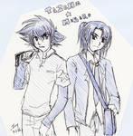 Digimon - Taichi and Masaru