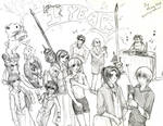 Digimon Savers - 1 Year Party