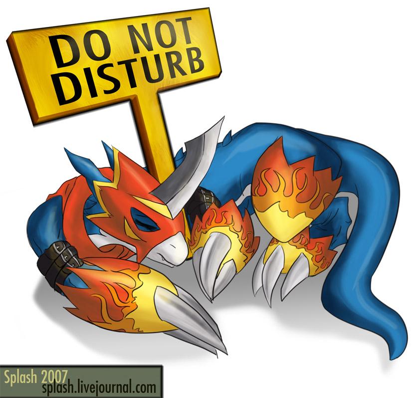 Digimon - Flamedramon by splashgottaito