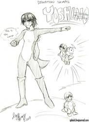 Digimon Savers - Yoshi Yoshino by splashgottaito