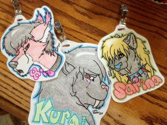 Finished badges
