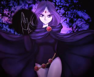Raven fanart by UminoAoi