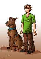 Shaggy And Scooby by xelanelho