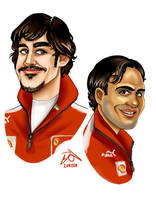 Ferrari Boys by xelanelho