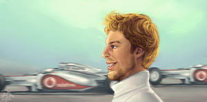Jenson Button by xelanelho