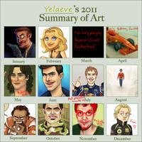 2011 Art Summary by xelanelho