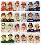 Formula 1 2012 line-up