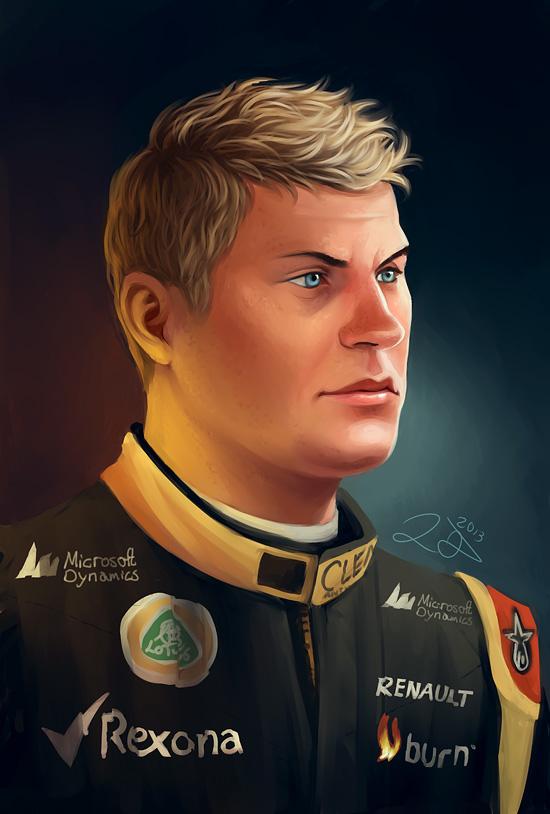 Kimi Raikkonen by xelanelho