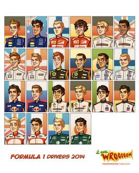 Formula 1 Drivers 2014