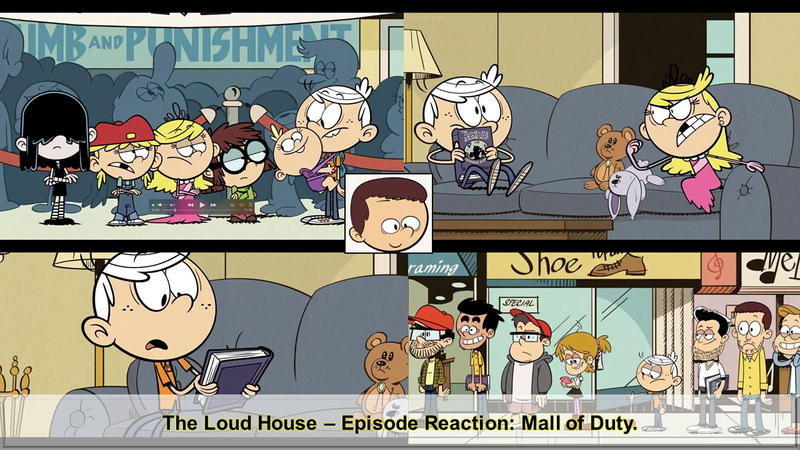 the loud house mall of duty