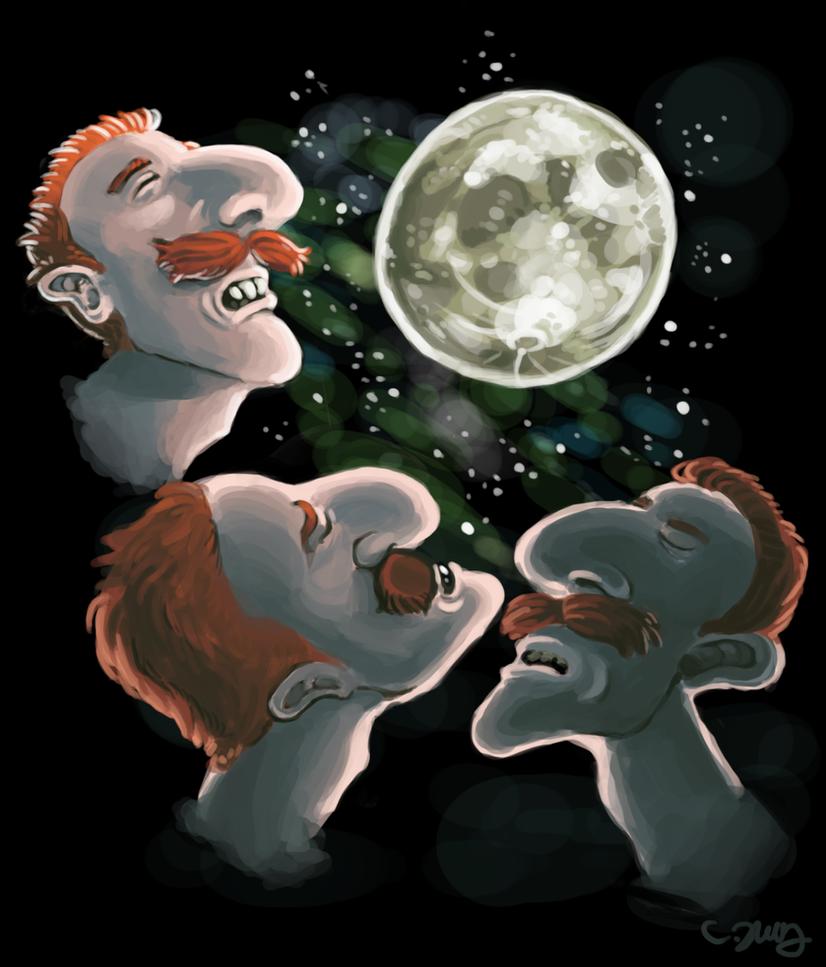 Three Nigel Moon by TheLaaarch