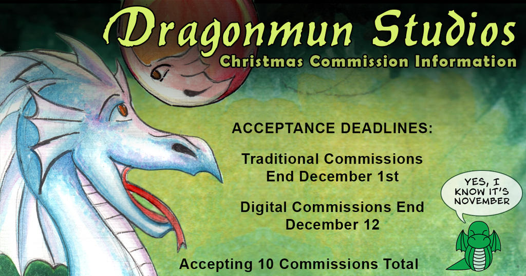 ChristmasCommissions by dragonmun