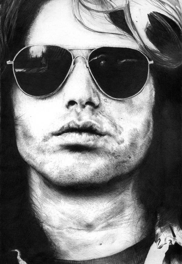 Jim Morrison work in progress