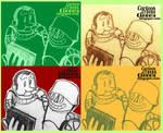 Cartoon Cyborg Cinema Social Media