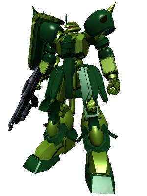 Zaku IV by waterslayer