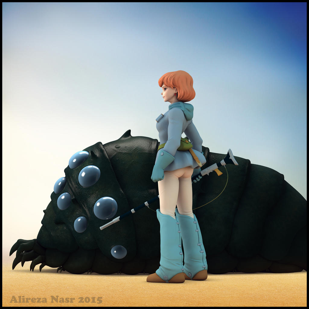 NAUSICAA OF THE VALLEY OF THE WIND by alireza0nasr