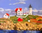 Cape Neddick by HarmonicSonic
