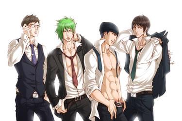 Group: Fan-Service (Bleach Male) by NexusYuber