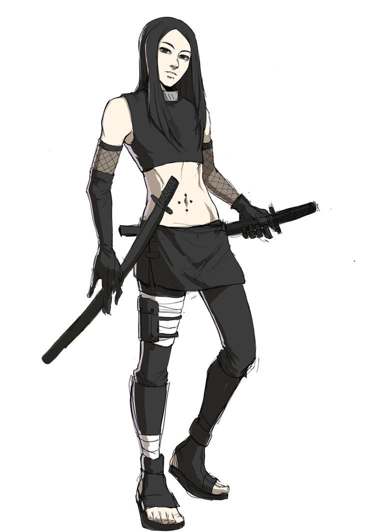 [B] Ameaça - Shizui Ain_akawa__ain_of_the_black_blade_by_nexusyuber-d90wcdb