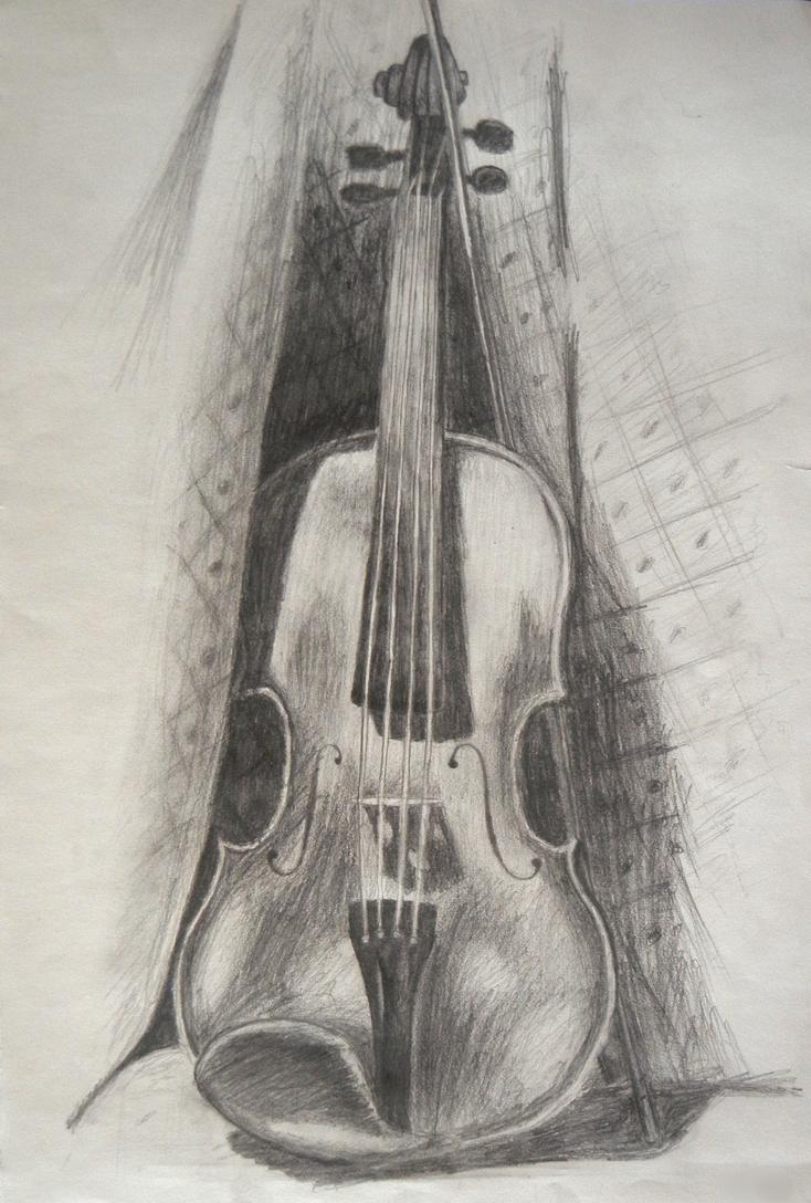 Violin Sketch by puretruth1103 on DeviantArt