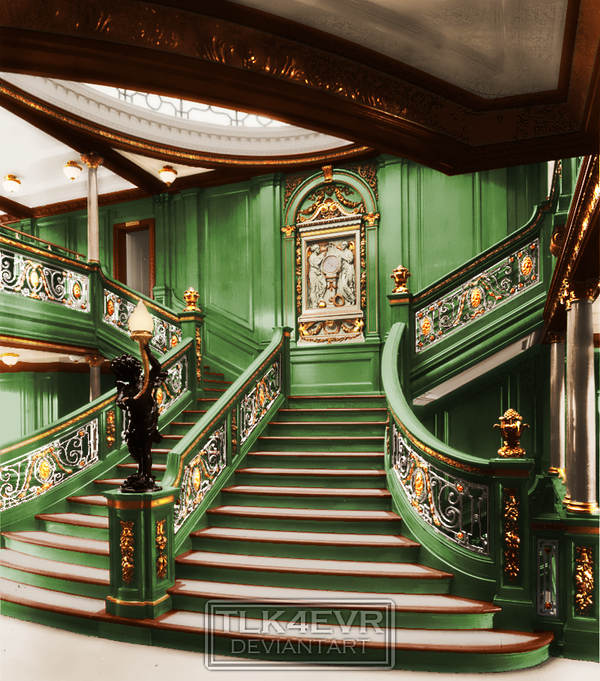 the green staircase by tlk4evr on deviantart