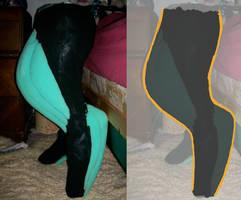 Digitgrade Legs by shadowdestroyer
