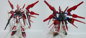 HG Gundam Astray Red Frame [Flight unit] custom