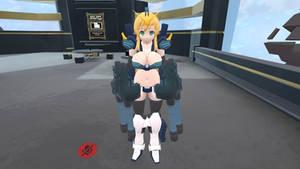 VRChat MS Girl: Gundam Heavyarms Custom EW preview