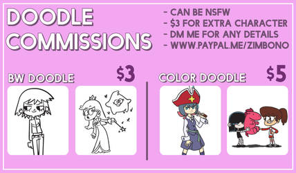 CHEAPER COMMISSIONS: OPEN