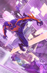 Spider-Man 2099 pin-up