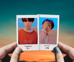 Graphic - JiKook Polaroid by Purplairy