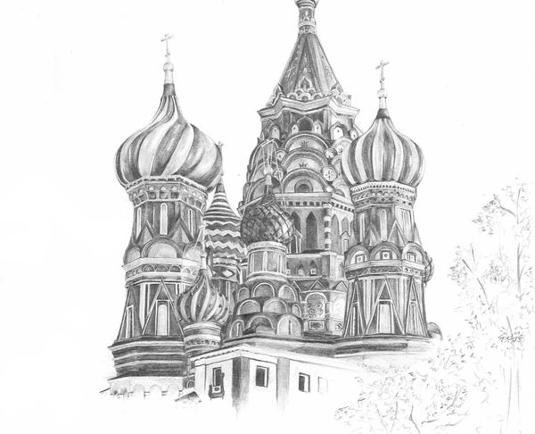 saint basils cathedral coloring pages - photo#32