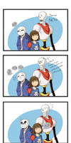 Undertale comic_bad_influence by Kaiserglanz
