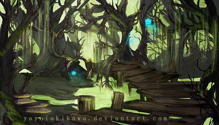 Landscape_Swamp by Kaiserglanz