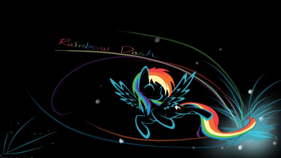 Rainbow Dash Wallpaper 1920x1080 Px by Pcyzicus