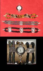 changable beaded watch bands