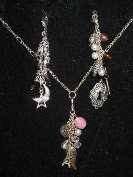 changable charm necklace