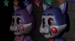 Five Nights at Candy's Cindy and Candy!