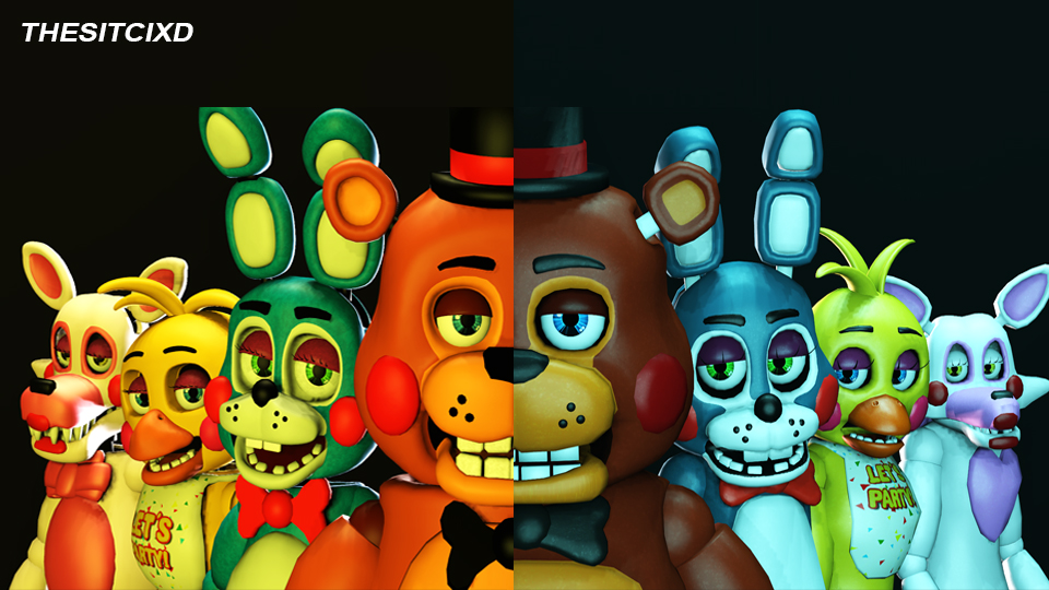 [SFM] How to make Five Nights at Freddys not Scary