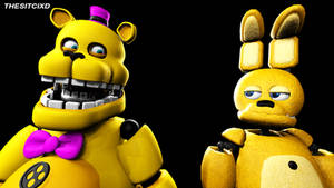 Fredbear and SpringBonnie (SFM)