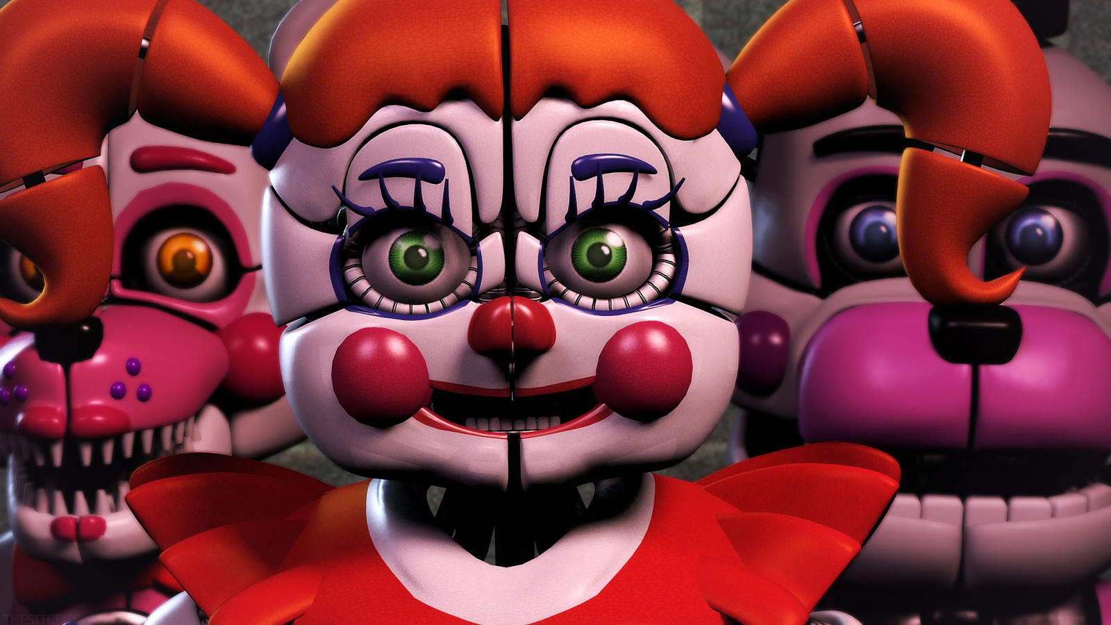 Circus Baby -Full Body : fivenightsatfreddys