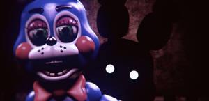 Toy Bonnie And Shadow B (SFM FNAF)