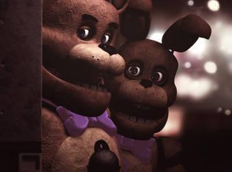 Fredbears And SpringBonnie by TheSitciXD