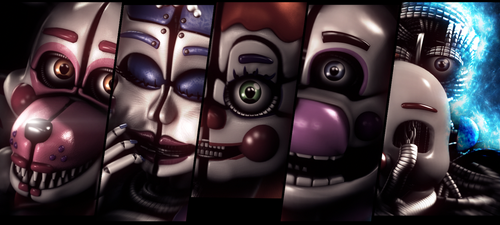 Sister Location - Banner (Remake) by TheSitciXD