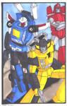 Show-off Autobots