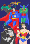 Justice League Color