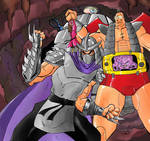 Shredder and Krang