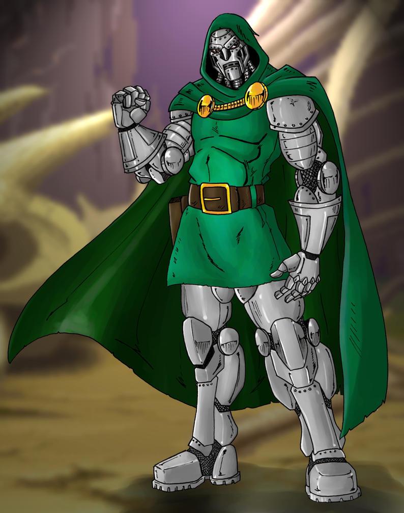 Doctor Doom by Mawnbak