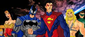 Justice League by Mawnbak