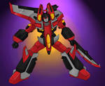 Starscream Armada by Mawnbak